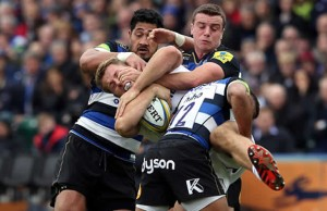 George Ford says Sam Burgess let his Bath team mates down