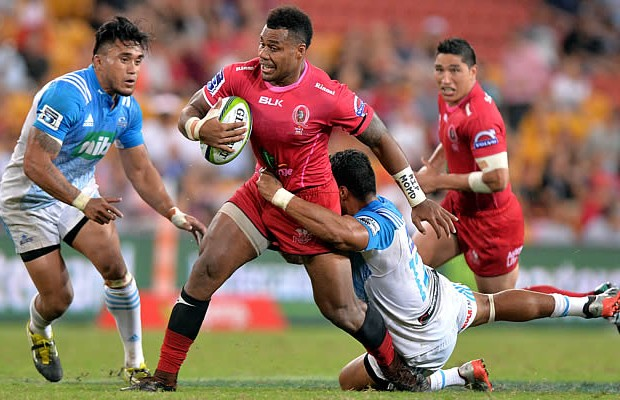 Samu Kerevi scored a crucial second half try for the Reds