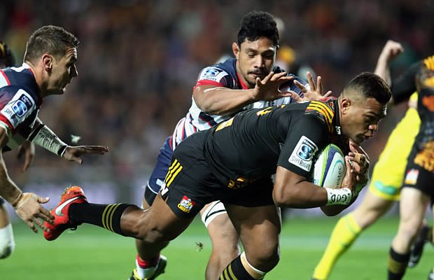 Seta Tamanivalu scored the Chiefs opening try