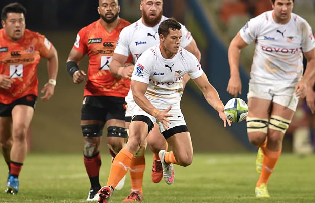 Shaun Venter scored a try for the Cheetahs
