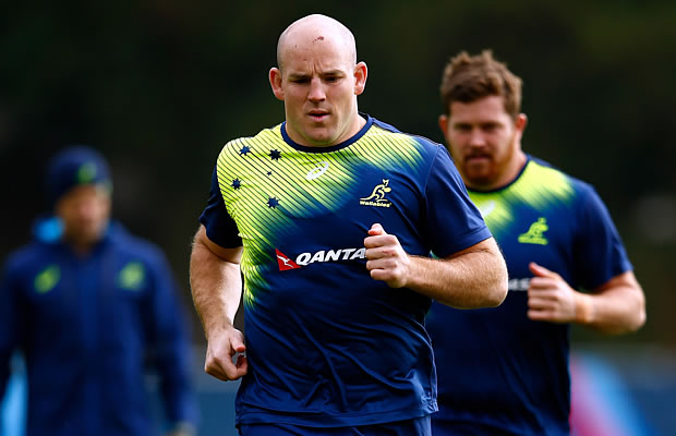 Stephen Moore will win his 100th cap in the quarter final