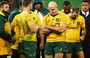 Wallabies captain Stephen Moore
