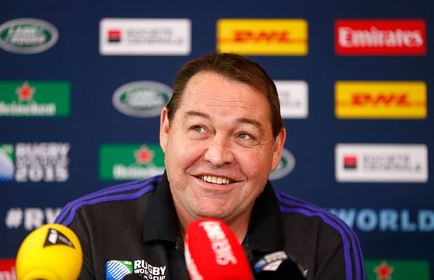 Steve Hansen has retained the side that beat South Africa