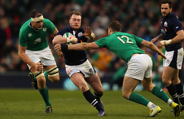 Stuart Hogg has won the Six Nations player award