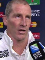 Stuart Lancaster reacts to England loss : Rugby Video