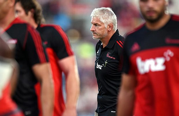 Former Crusaders head coach Todd Blackadder