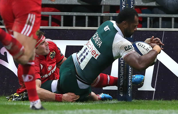 Vereniki Goneva scored for Leicester Tigers