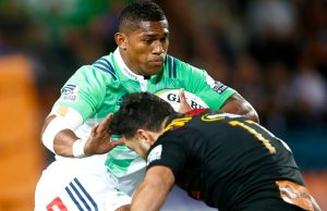 Waisake Naholo scored two tries for the Highlanders