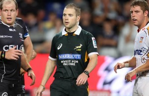 Angus Gardner will referee in the Rugby Championship