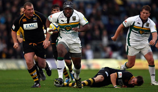 Brian Mujati played 100 games for Northampton Saints