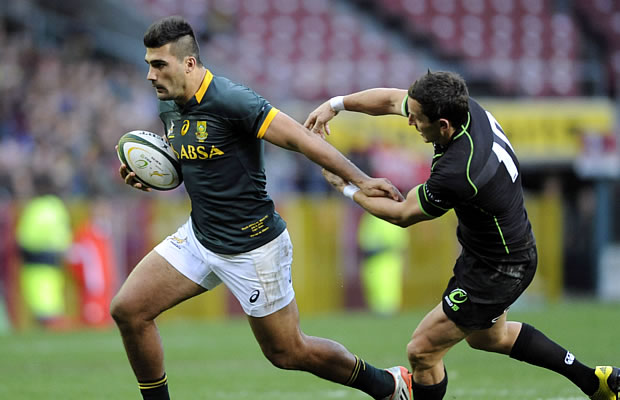 Damian De Allende comes into the Springbok starting line up