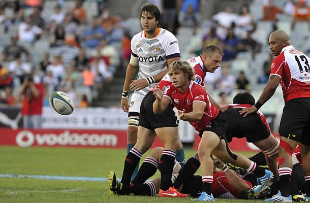 Faf de Klerk will wear the Lions Super Rugby jersey again