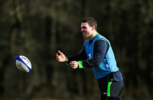 Wales winger George North is unlikely to return to Wales soon