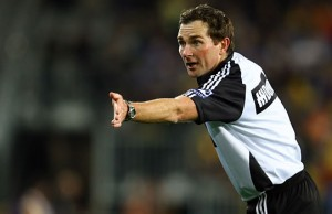 New Zealand referee Glen Jackson