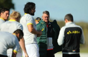 Springbok head coach Heyneke Meyer has stepped down
