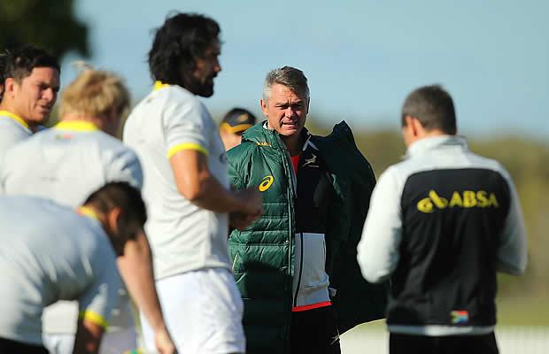 Springbok head coach Heyneke Meyer has stepped down