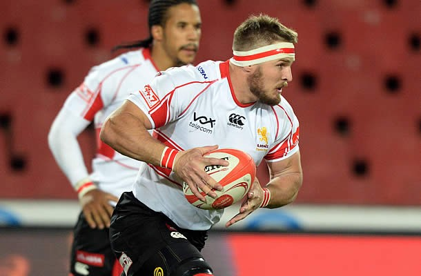 Jaco Kriel captains the Lions in their Semi-final