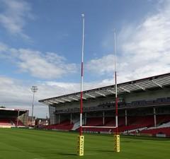 Gloucester Rugby host Northampton Saints at Kingsholm