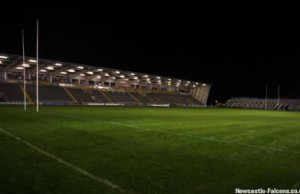 Newcastle Falcons host Sale Sharks at Kingston Park