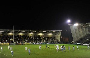 Newcastle Falcons hostBath at Kingston Park
