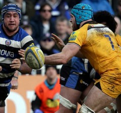Leroy Houston has left Bath and signed with the Reds