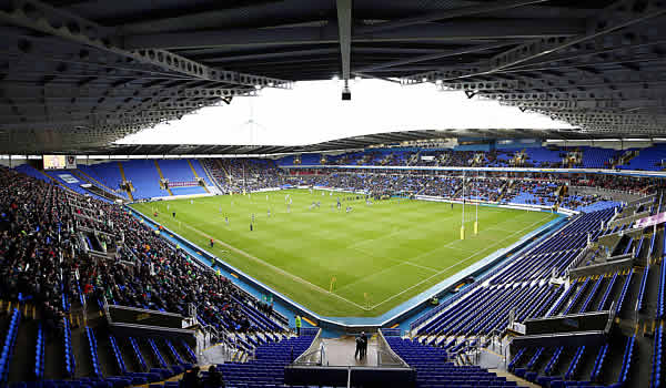 London Irish host Sale Sharks at the Madejski Stadium