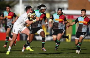 Marland Yarde has re-signed with Harlequins