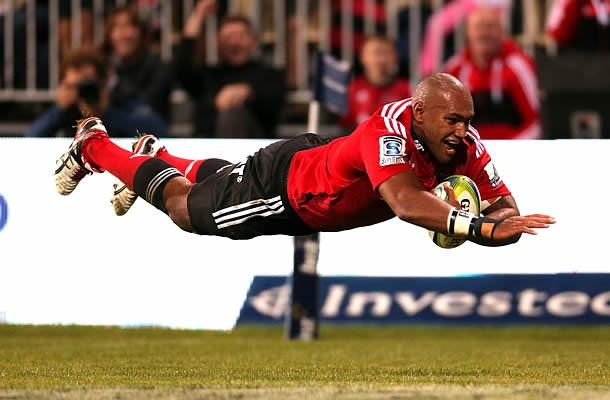 The 2016 Super Rugby season will be Nemani Nadolo's last with the Crusaders