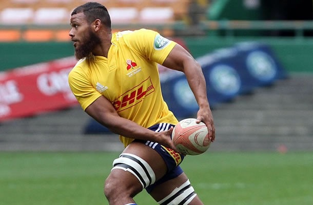 Nizaam Carr in training for the Stormers