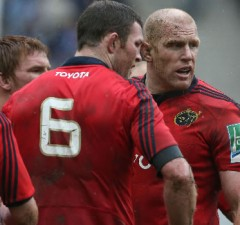 Paul O'Connell has re-joined Munster