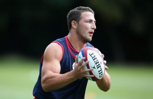 Sam Burgess has left Bath and will return to Sydney