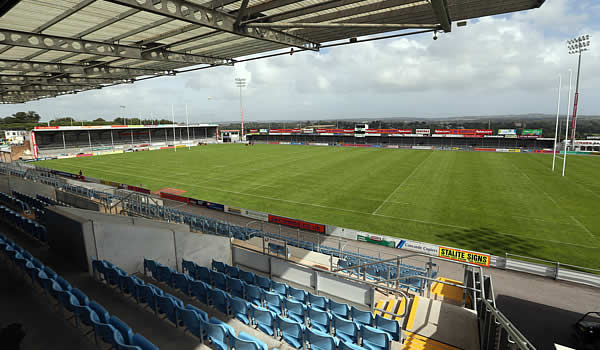Exeter Chiefs host Northampton Saints at Sandy Park