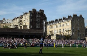 Bath will host Northampton Saints at the Recreation Ground
