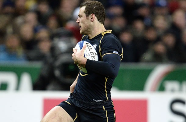 Tim Visser is expected to miss the first three rounds of the Six Nations