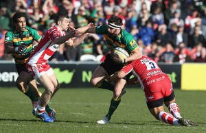 Tom Wood will captain Northampton Saints