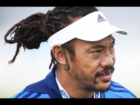 Tana Umaga talks about the Blues victory over the Highlanders | Rugby Video Highlights