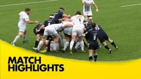 Newcastle Falcons vs Harlequins - Aviva Premiership 2015/16 | Rugby Video Highlights