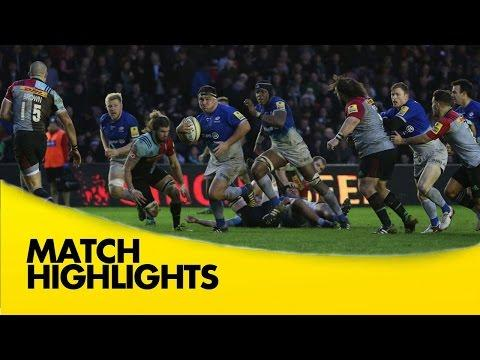 Harlequins Vs Saracens |  Aviva Premiership Rugby Video Highlights 2015/16