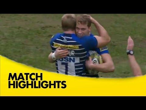 Sale Sharks Vs Exeter Chiefs - Aviva Premiership 2015/16 Rugby Video Highlights