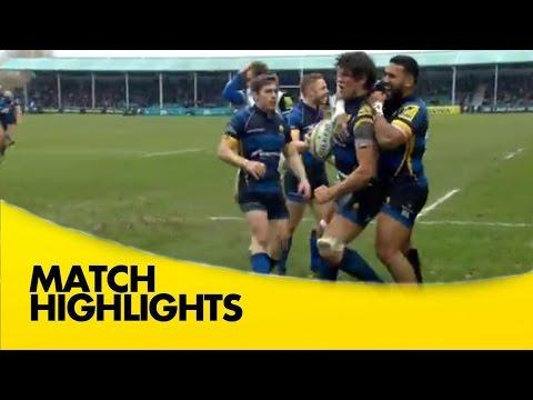 Worcester Warriors Vs Bath - Aviva Premiership 2015/16 Rugby Video Highlights