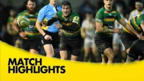 Northampton Saints vs Wasps - Aviva Premiership 2015/16 | Rugby Video Highlights