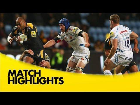 Wasps Vs Exeter Chiefs - Aviva Premiership 2015/16 | Rugby Video Highlights