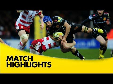 Exeter Chiefs Vs Gloucester | Aviva Premiership Rugby Video Highlights 2015/16