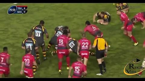 Toulon snatch victory from Wasps in last second | Rugby Video Highlights