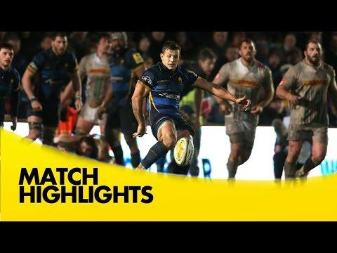 Worcester Warriors Vs Harlequins  | Aviva Premiership Rugby Video Highlights 2015/16