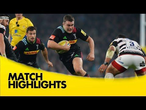 Harlequins Vs Gloucester - Aviva Premiership 2015/16 | Premiership Rugby Video Highlights