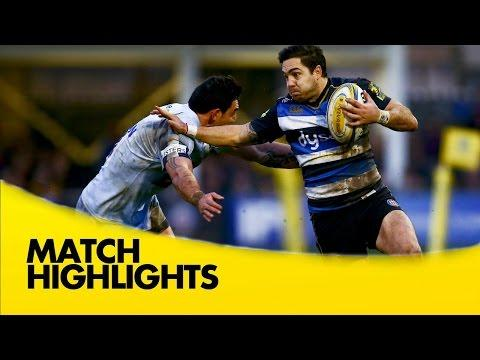 Bath Vs Worcester Warriors - Aviva Premiership 2015/16 | Premiership Rugby Video Highlights