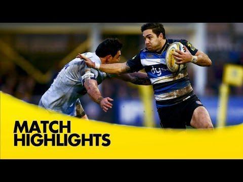Bath Vs Worcester Warriors - Aviva Premiership 2015/16 | Premiership Rugby Video Highlights