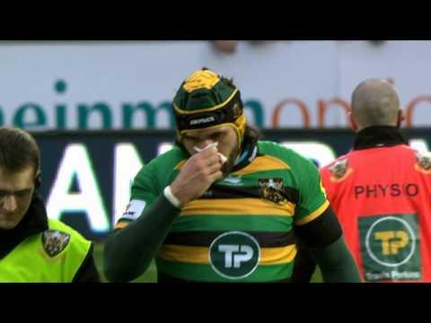 Northampton Saints Vs Exeter Chiefs | Rugby Video Highlights  Aviva Premiership 2015/16