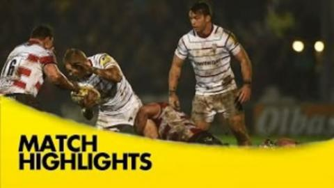 Gloucester vs London Irish | Rugby Video Highlights  Aviva Premiership 2015/16